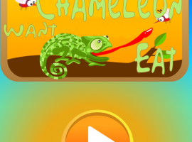 CHAMELEON WANT EAT