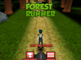 Subway Surfer: Into The Forest